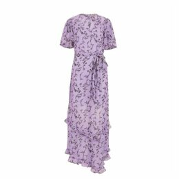 KEEPSAKE Daybreak Lilac Chiffon Maxi Dress