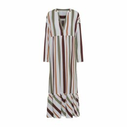 Moshi Moshi Mind Cara Dress Safari Stripe - S - Safari Stripe