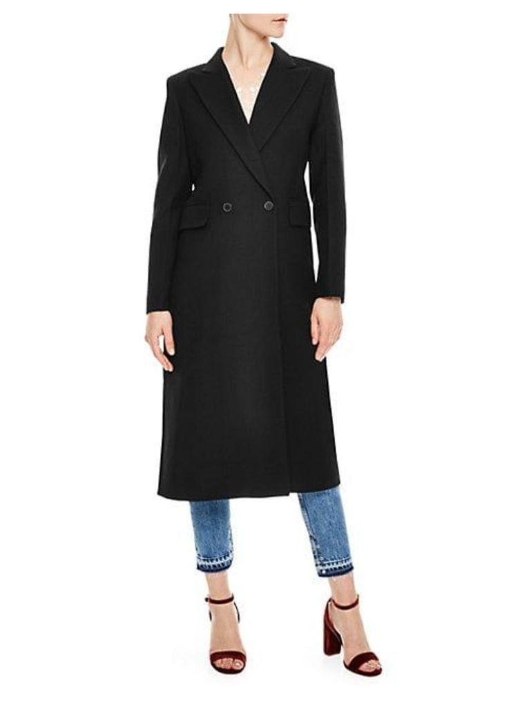 H18 Wool-Blend Coat