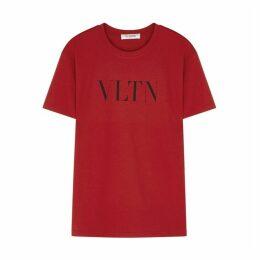 Valentino VLTN-print Cotton T-shirt