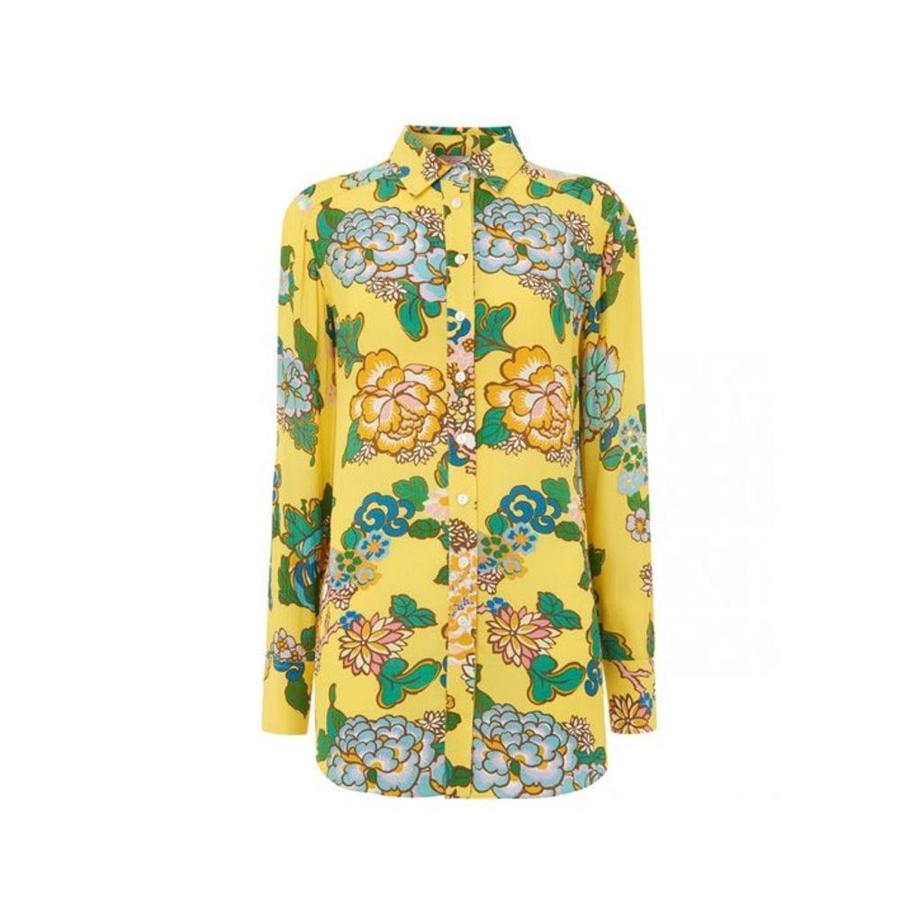 Kitri Milana Printed Oversized Shirt