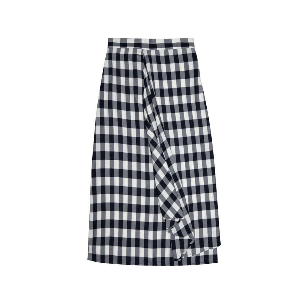 DUARTE - Checked Skirt
