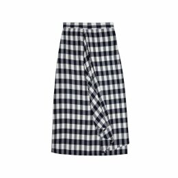 DUARTE - Checked Skirt