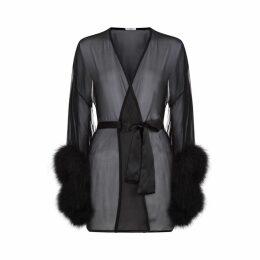 Gilda & Pearl - Diana Kimono In Black
