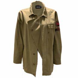 Asneh - Natalie Red Midi Linen Dress