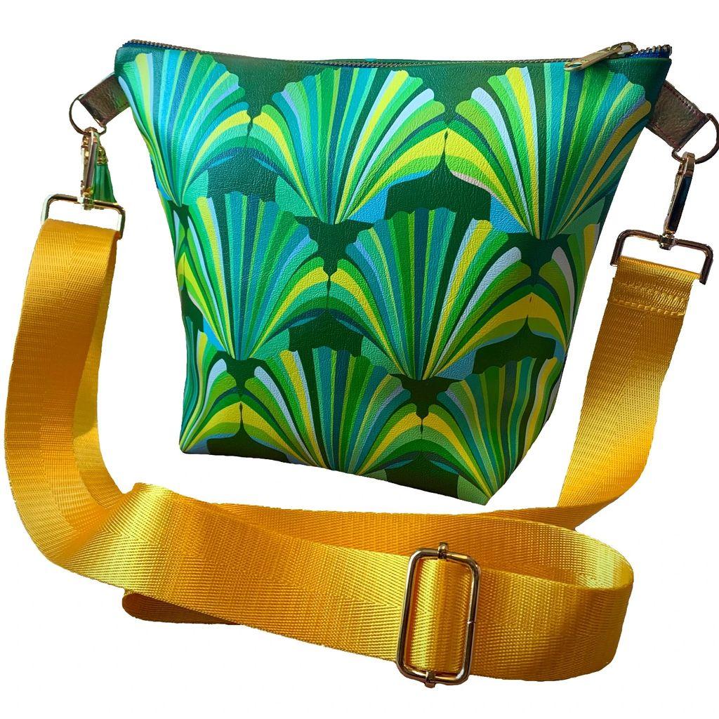 Vivienne Hu - Asymmetric Wrap Skirt Leather