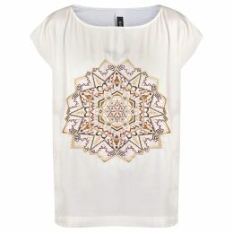 GISY - Earth Mandala Embroidered Kaftan Top