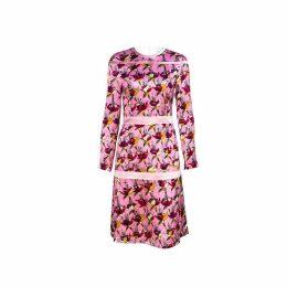 Vivienne Hu - Printed Floral Pink Dress