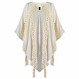 GISY - Lyric Lace Trim Pointy Hem Kaftan