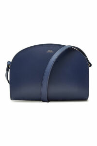 A.P.C. Demi Lune Leather Shoulder Bag