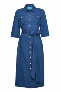 M.i.h Jeans Elise Cotton Shirt Dress