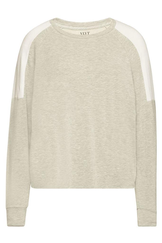 Velvet Athelei Top with Cotton