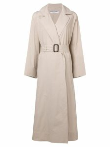 Katharine Hamnett London belted trench coat - Neutrals