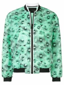 Anteprima parachute print bomber jacket - Green