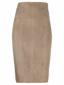 Arma pencil skirt - Grey