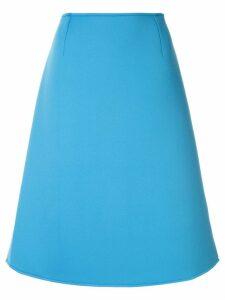Anteprima plain A-line skirt - Blue