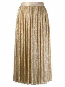 Alice+Olivia pleated skirt - Gold