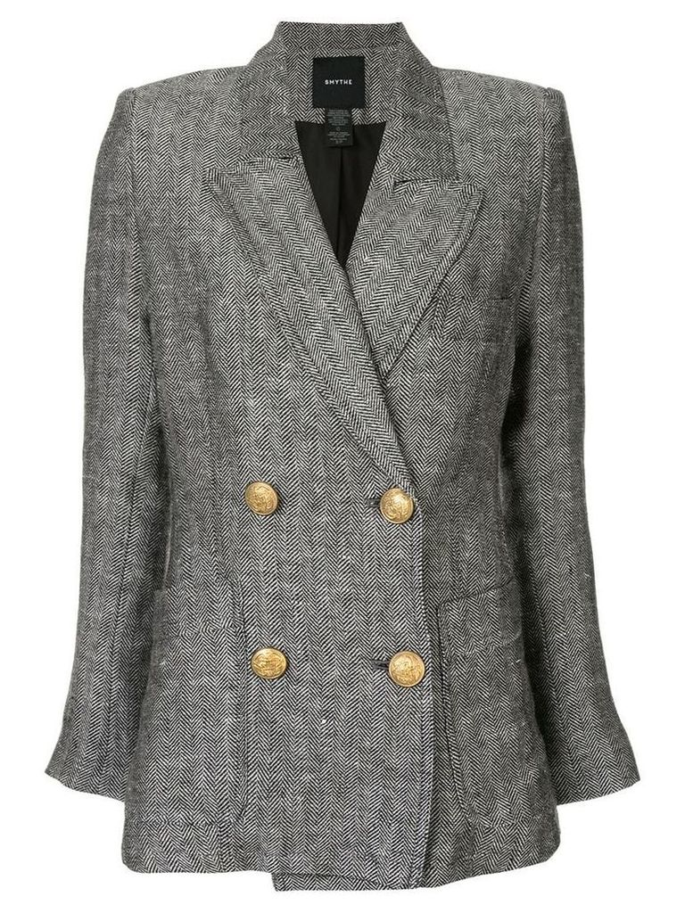 Smythe unstructured blazer - Grey