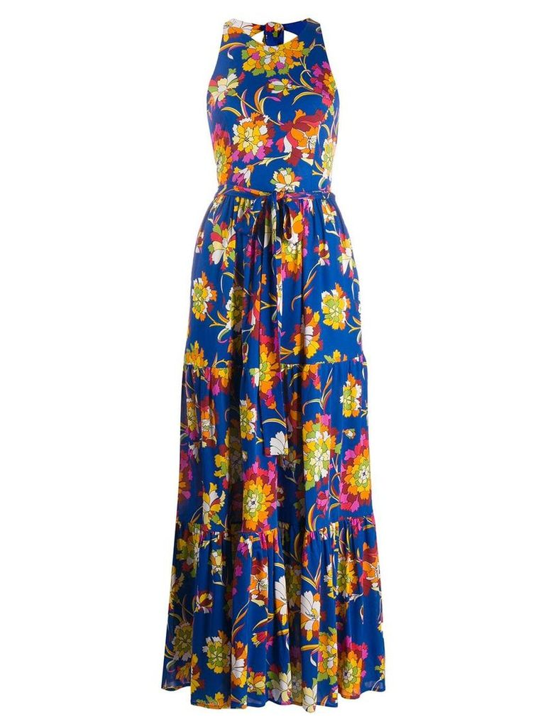 La Doublej Pellicano Americano dress - Blue