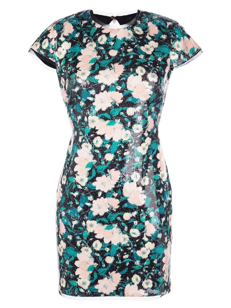 Rachel Zoe Sonia sequin mini dress - Black