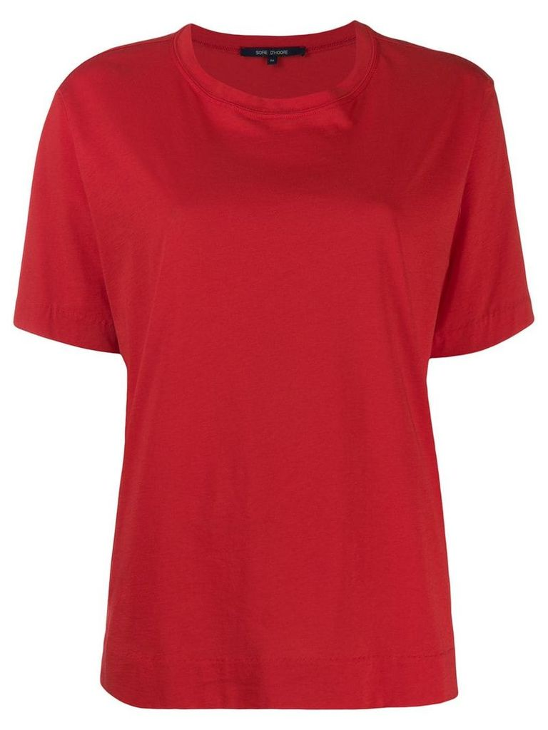 Sofie D'hoore short-sleeved T-shirt - Red