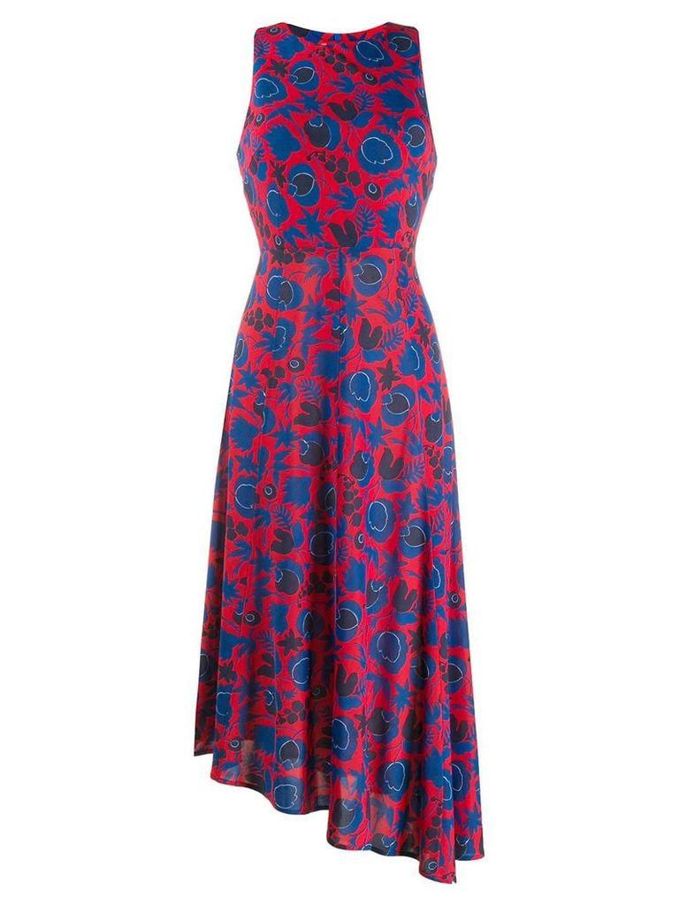 La Doublej Pina long dress - Red