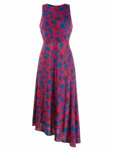 La Doublej Pina long dress - Red