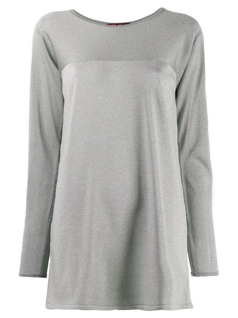 Max Mara Studio long sleeve top - Grey
