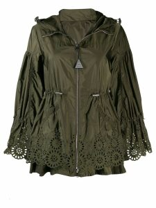 Moncler Brazzaville hooded parka - Green