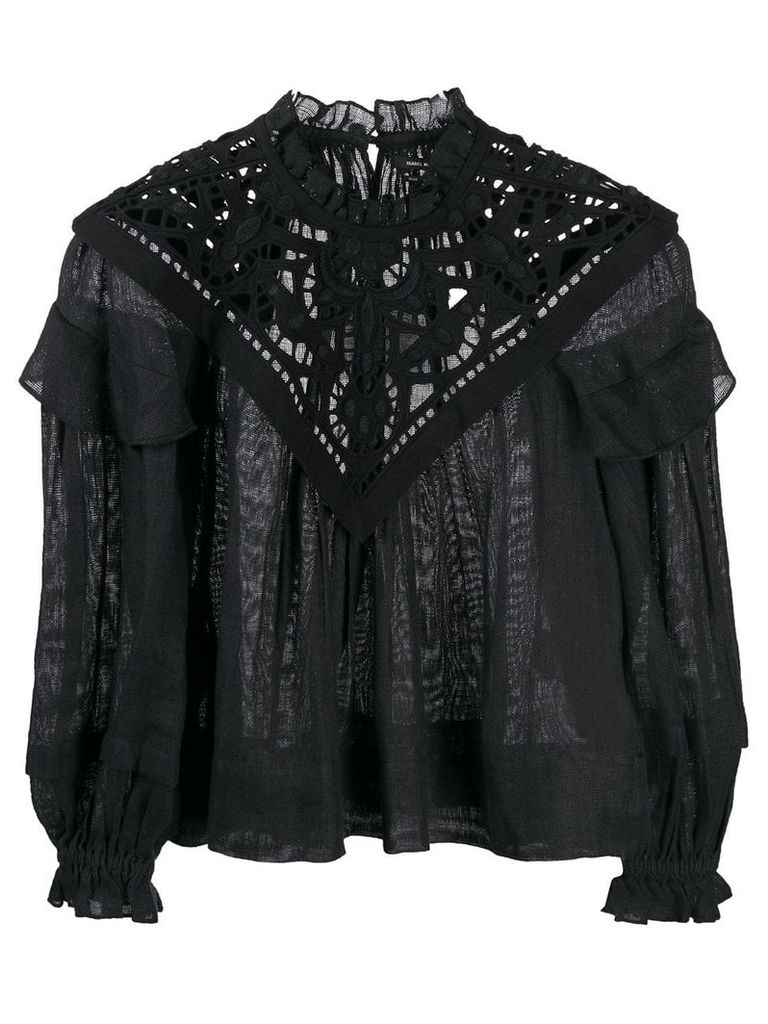 Isabel Marant Geoffrey top - Black