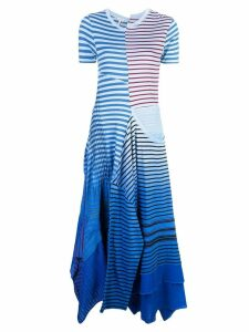 Loewe striped dress - Blue