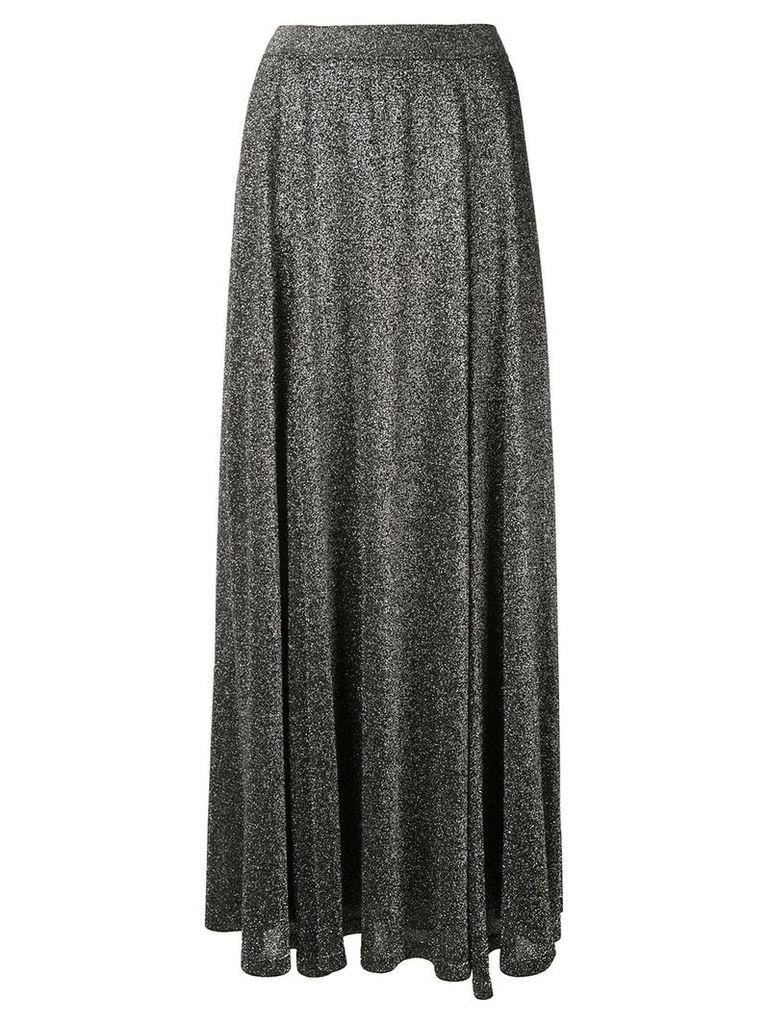 Missoni Vanise metallized skirt - Silver
