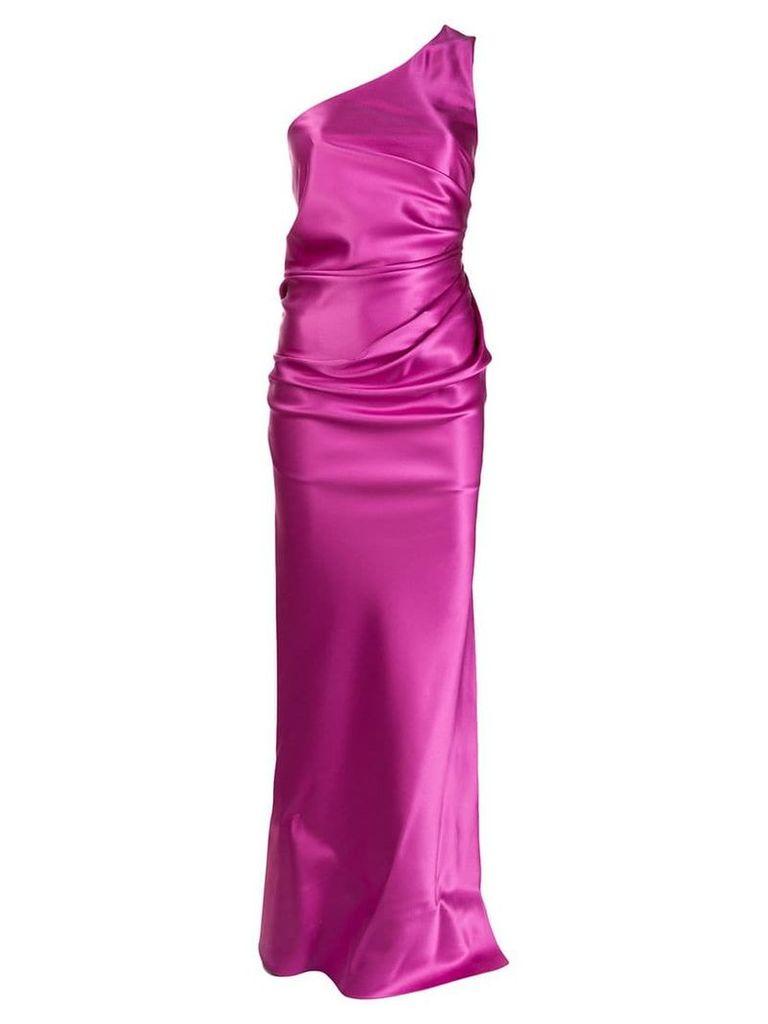 Lanvin gathered evening dress - Pink