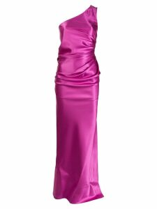 Lanvin gathered evening dress - Pink