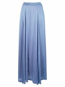 Missoni lamé full skirt - Blue