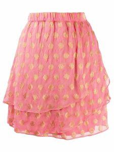 Cecilie Copenhagen 'Christine' tiered Skirt - Pink