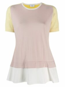 Akris Punto layered T-shirt - Pink