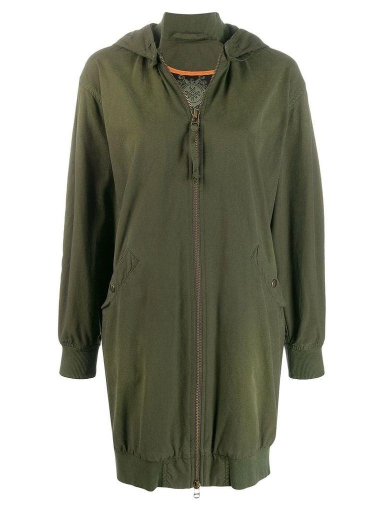Mr & Mrs Italy hooded coat - Green