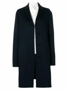Jil Sander classic coat - Blue
