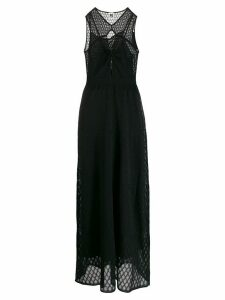 M Missoni structured gown - Black