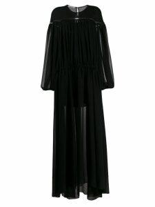 Philosophy Di Lorenzo Serafini balloon sleeve maxi dress - Black