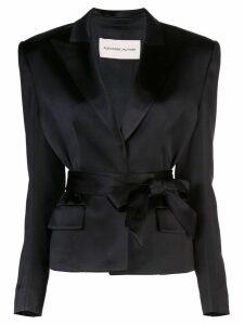 Alexandre Vauthier satin blazer - Black