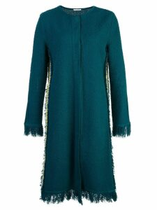 Oscar de la Renta fringed jacket - Green