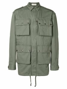 Faith Connexion Customizable tail parka - Green