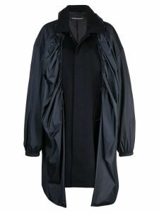 Y/Project covered midi coat - Black