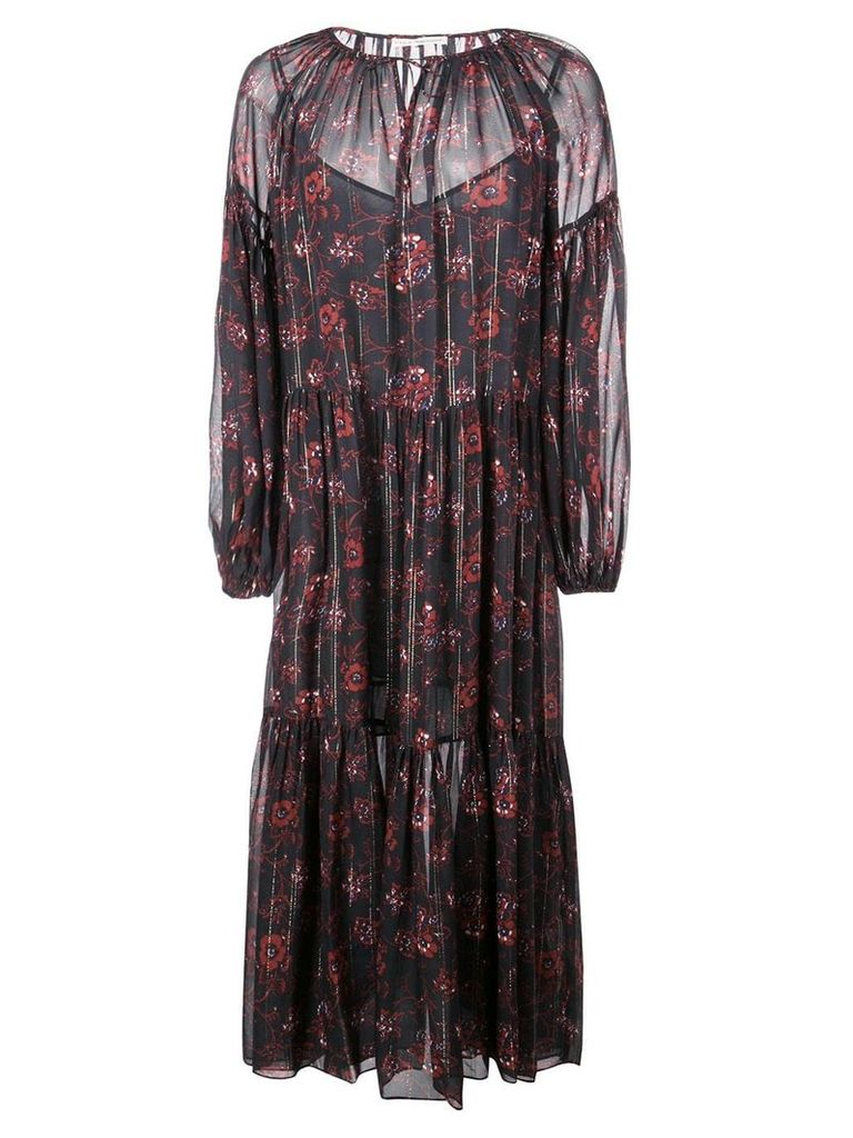 Ulla Johnson floral print dress - Black