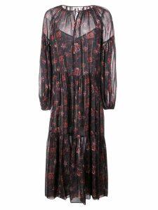 Ulla Johnson floral print dress - Black