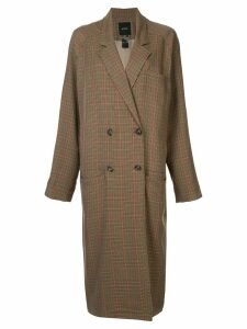 Smythe raglan trench coat - Brown