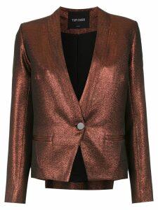 Tufi Duek jacquard blazer - Red