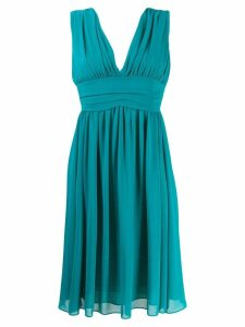 Blanca sweetheart ruched dress - Green